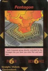 Pentagon Card